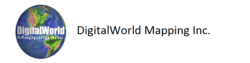 DigitalWorld Mapping Inc Logo